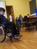 O problemach osób niepełnosprawnych w ZSG Nędza