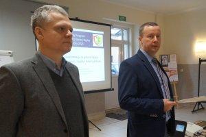 Od lewej: Mariusz Andrukiewicz i Roman Gruszczyk