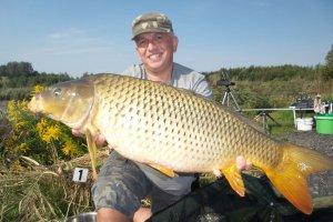 Taaaka ryba na jesiennych zawodach na Babiczoku