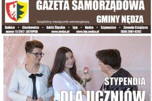 Październikowy numer Gazety Samorządowej gminy Nęd