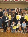 Muzykalna szkoła w Nędzy. Koncert młodych instrume
