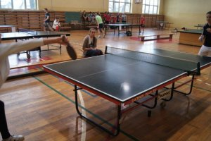 Zawalcz o puchar Wójta Gminy Nędza w tenisie stoło